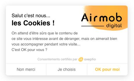 cookies AIRMOB DIGITAL
